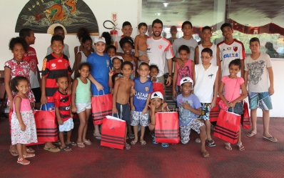 Gegê visita Vila Olímpica do Salgueiro - 28/01/2015