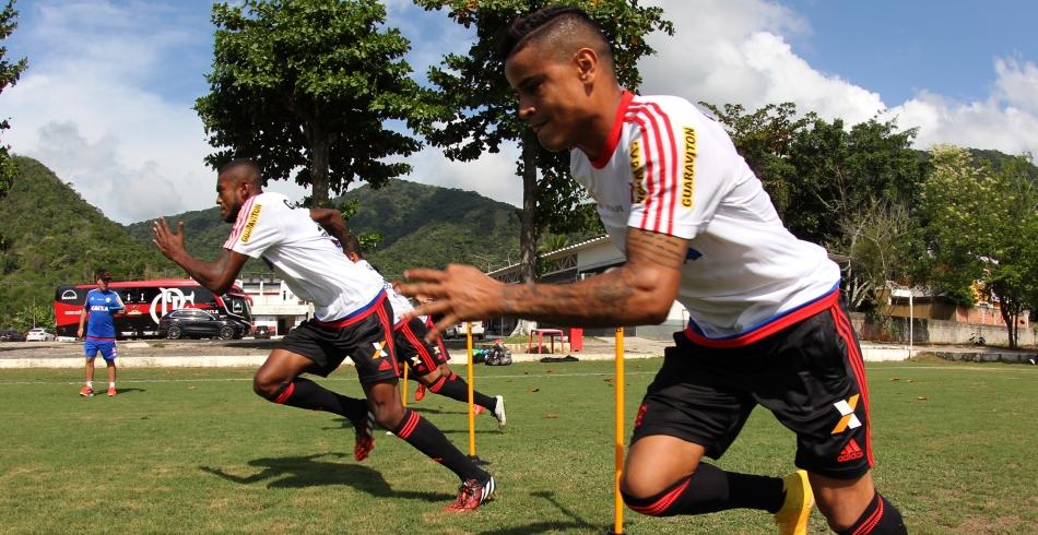 Treino do Flamengo - 14/02/2015