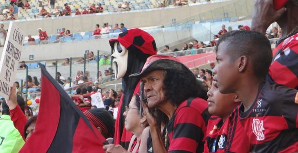 Que torcida é essa? - Flamengo 0 x 0 Vasco