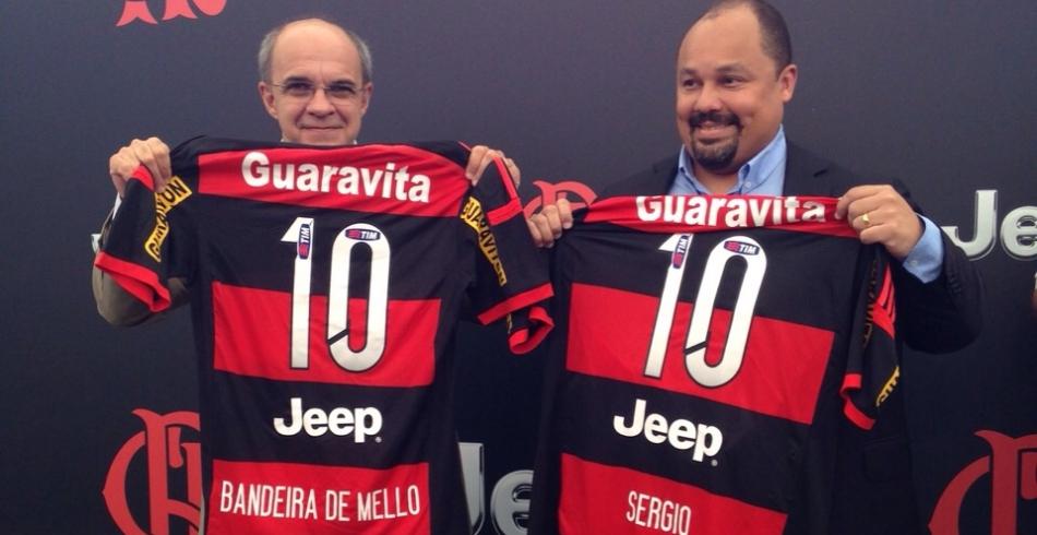 Lançamento Flamengo/Jeep, no Maracanã