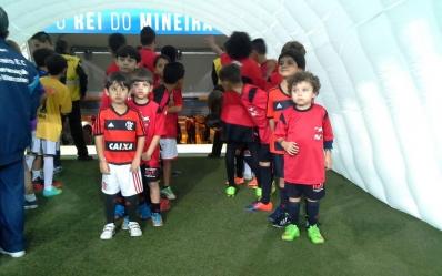 Mascotes Cruzeiro x Flamengo - 03/06/2015