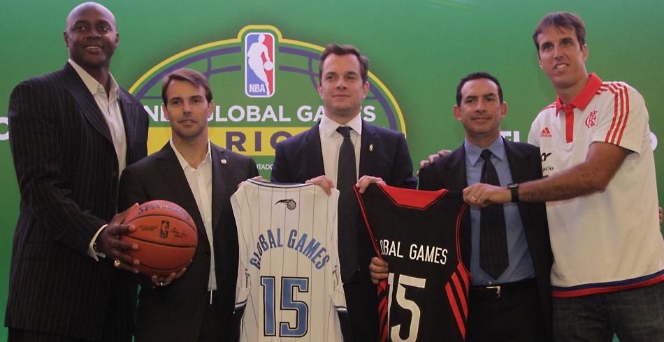 Coletiva NBA Global Games - 25/08/2014