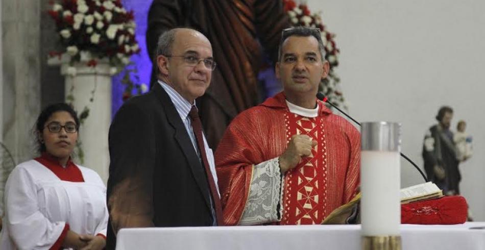 Missa em homenagem ao Dia do Flamenguista
