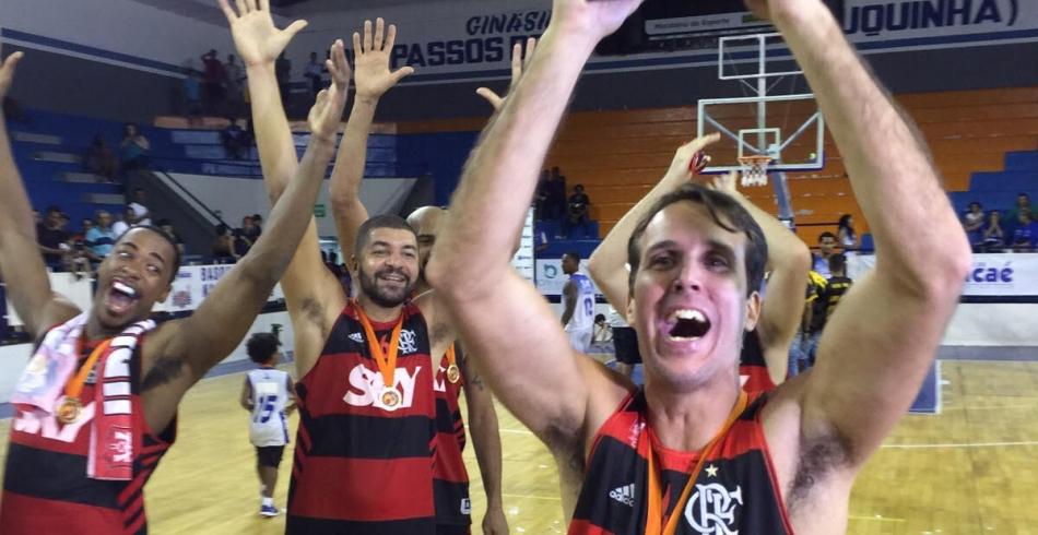 FlaBasquete campeão estadual - 29/10/2015
