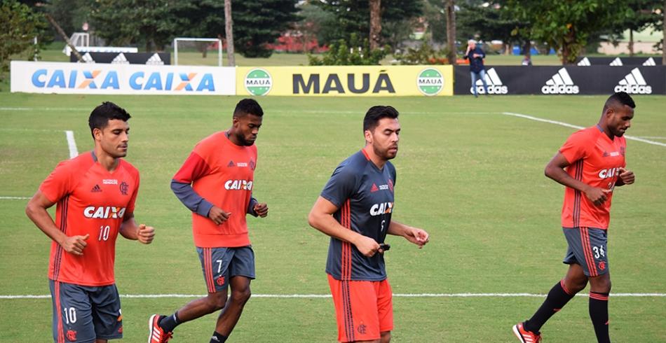 Treino do Flamengo - 26/05/2016