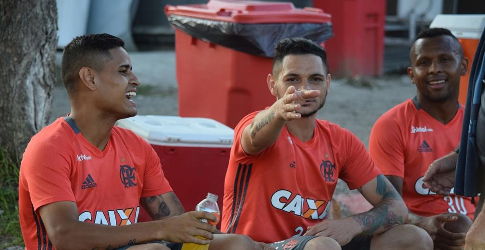 Treino do Flamengo - 11/10/2016