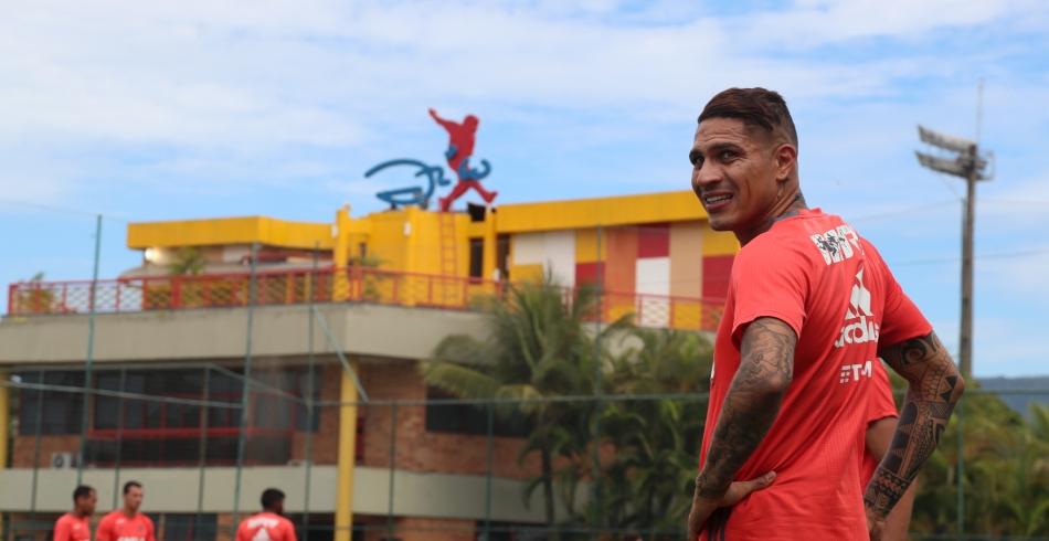 Treino do Flamengo no CFZ - 09/12/2016