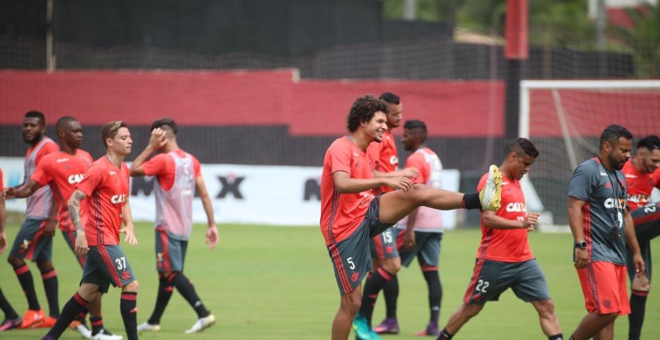 Treino do Flamengo - 10/12/2016