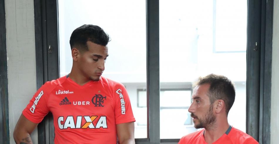 Treino do Flamengo - 11/01/2017
