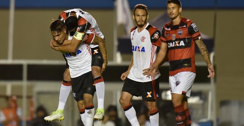 Atlético-GO 1 x 2 Flamengo