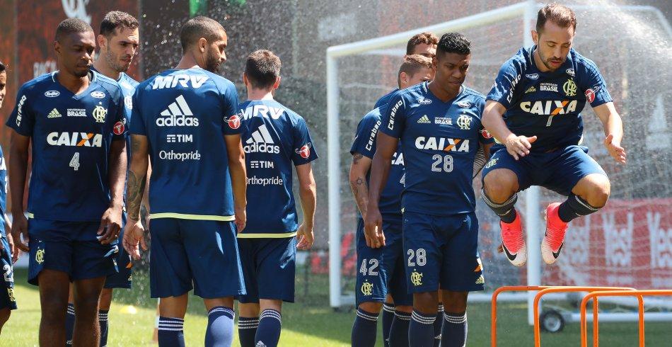 Treino do Flamengo - 09/10/2017