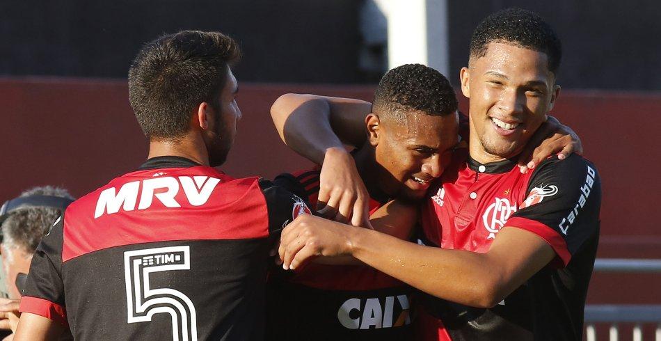 Flamengo x Santos - Copa do Brasil sub 17 - 11/10/2017