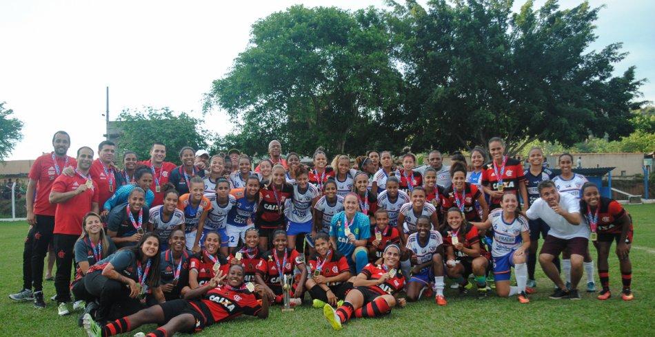 Duque de Caxias x Flamengo/Marinha | 28/10/2017 | Carioca Feminino