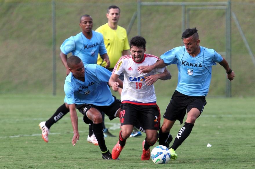 Flamengo X Bragantino Jogo Treino 06 05 2015 Flamengo