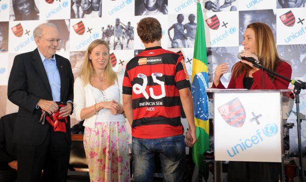 Alexandre Vidal e Leandra Benjamin - Fla Imagem
