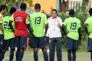 Flamengo volta ao Rio e treina pensando no Botafogo